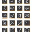 20 icons - Stock Vector