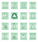 Recycleren pictogram — Stockvector