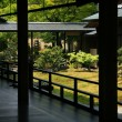 Zen garden in Kyoto - Stock Photo