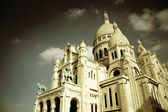 The Sacre-Coeur church in Montmartre, Paris — Stock Photo
