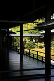Japanese Zen Garden in Kyoto — Stock Photo