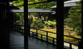 Zen garden in Kyoto — Stock Photo
