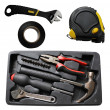 Stock Photo: Tools - set