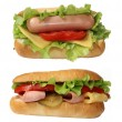 Hot-dogs — Stock Photo