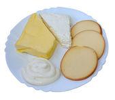Süt grubu süt ürünleri — Stok fotoğraf