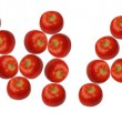 Tomato,alphabet — Stock Photo