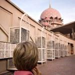 Putra Mosque in Putrajaya, Selangor, Malaysia — Stock Photo