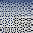Islamic patterns on the walls of a mosque — Photo