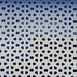 Islamic patterns on the walls of a mosque — ストック写真