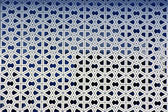 Islamic patterns on the walls of a mosque — Stock Photo