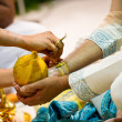 Stock Photo: Hindu Indiwedding ceremony