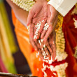 Stock Photo: Hindu Indian wedding ceremony