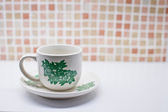 Traditional Malaysian coffee cup — Stock Photo