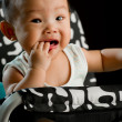 Stock Photo: Six month old South East Asian Chinese baby girl
