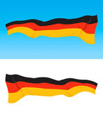 German flag — Stock Vector