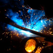 Stock Photo: Metal welding