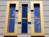 Architectural design of windows — Foto Stock