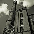 Old power station in Lodz-Poland Ec1 — Stock Photo