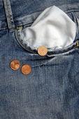 I haven't money — Zdjęcie stockowe