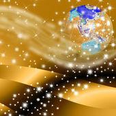Peace on earth christmas — Stock Photo