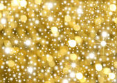 Background gold and stars — Stock Photo