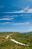 Road on the hills — Stock Photo