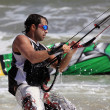 Kitesurfer in action - ストック写真