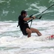 Kitesurfer in action - Foto Stock