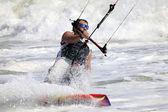 Kitesurfer en action — Photo