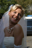 The happy Bride — Photo