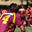 Rugby player in action — Stock Photo