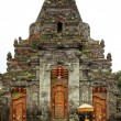 Bali temple entrance — Stock Photo