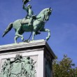 Monument Wilhelm II — Stock Photo