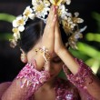 Indonesian bride prays — Stock Photo #6166962