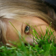 Girl in a grass — Stock Photo #6169434