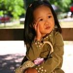 Korean child — Stock Photo
