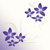 Background with flower — Stock Photo