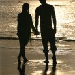 Couple on sunset — Stock Photo #6170321