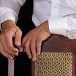 Hand of the businessman — Stock Photo