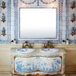 Stock Photo: Vintage bath room