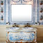 Vintage bath room — Stock Photo