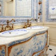Vintage bath room - Foto Stock