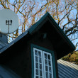 TV Satellite Dish - Stockfoto