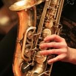 Saxophone player — Stock Photo #6178663
