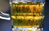 Fresh cold beer — Stock Photo