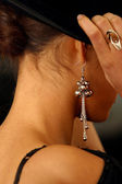 Ear rings — Stock Photo