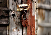 Old lock — Stock Photo