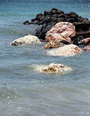 Wet stones — Stock Photo
