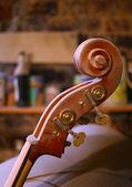 O violino de futuro — Foto Stock