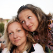 Mum and the daughter — Stock Photo